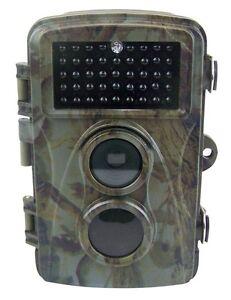 Wildkamera 8 MP digitale Kamera mit black LED unsichtbar NACHTSICHT NEU