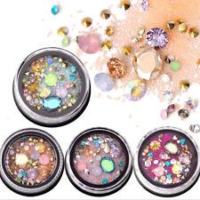Nail Crystal Rhinestone Beauty Mixed Size Shiny Diamond Nail Art Decorations