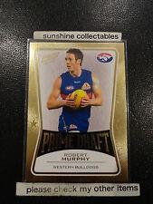2013 AFL SELECT PRIME DRAFT PD48 ROBERT MURPHY WESTERN BULLDOGS 019/145