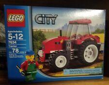 New LEGO City 7634 Farm Tractor NEW SEALED BOX and 7566 Farmer