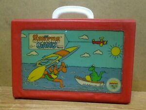 THE SAURUS GANG Toy Carrying Box / Case, c. 1986, Cliff Galbraith