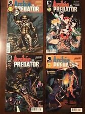 Dark Horse Comics Archie Vs Predator #1-4 Signed by Writer de Campi - Variant
