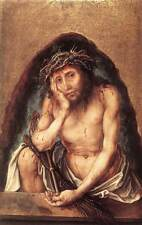 Albrecht Durer: Christ as the Man of Sorrows  - Fine Art Print