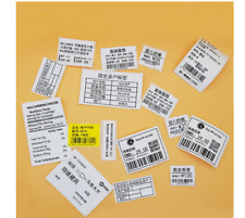 Adhesive Label Clothing Tag thermal Printing Paper Commodity Sticker