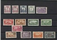 middle east 1926 surcharge stamps  ref r12775