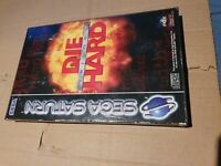 Die Hard Trilogy Sega Saturn  PAL Boxed with Manual