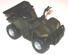 "ATV QUAD 4-WHEEL ALL-TERRAIN VEHICLE - 1:18 Scale Vehicle for 3-3/4"" Figures"