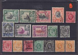 Kenya, Uganda & Tanganyika KGV Used Collection