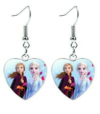 💕BellaBow Children Kids Princess Earrings Frozen 2 Elsa & Anna