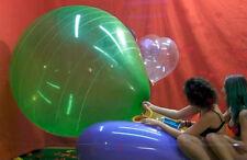 "1 South American Super Jumbo 40-45"" *Random color Stripe* huge balloon looner"