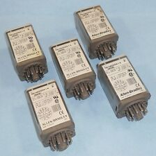 ALLEN BRADLEY 24VDC 3-POLE DOUBLE-THROW RELAY 700-HA33Z24-1-4 *LOT OF 5*