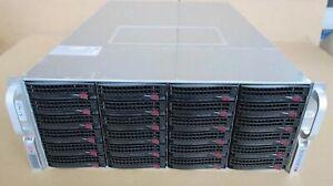Supermicro CSE-847 847JBOD-14 45Bay HD Direct Attached Storage JBOD Array 2xPSU