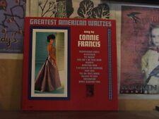 CONNIE FRANCIS, GREATEST AMERICAN WALTZES - LP E-4145
