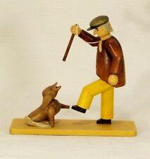 Christian Ulbricht Struwwelpeter Evil Friederich Seiffener Wood Figurine Germany