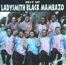 The Best of Ladysmith Black Mambazo [Shanachie] by Ladysmith Black Mambazo (CD,