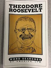 Theodore Roosevelt Word Search Puzzle Book