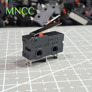 1~5pcs End Stop Micro Limit Switch Lever Arm 5A 125V 250V SPDT Snap Action