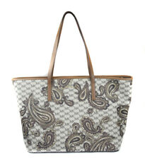 Michael Kors Women's Large Luggage Paisley MK Print Emry Tote Purse Bag Handbag
