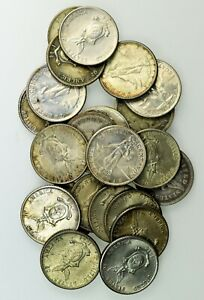 Philippines: Lot of  23 Silver 20 Centavos, 1907, 17, 19, 1944 (17) and 1945 (3)