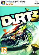 Dirt 3 PC DVD *in Excellent Condition*