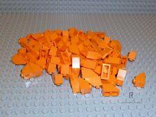 LEGO® 100 Ziegel Dachsteine orange 1x2 2x1 45° 3040 NEUWARE