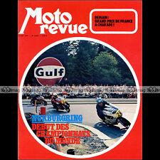 MOTO REVUE N°2075 JACK FINDLAY ★ SUZUKI TS 250 J SAVAGE GP NURBURGRING 1972