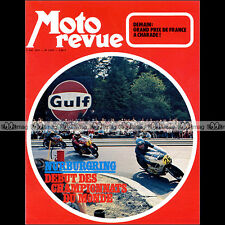 MOTO REVUE N°2075 SUZUKI TS 250 J SAVAGE JACK FINDLAY MARZOCCHI NURBURGRING '72