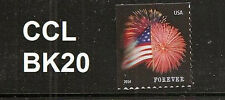 US 4869 Star-Spangled Banner forever single (1 stamp) CCL BK20 MNH 2014