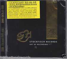 """Stockfisch Records """"Art of Recording Vol.1"""" Sony DADC 24K Gold CD Japan New"""