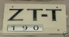 MG ZT-T 190 REAR BADGE, BLACK FINISH, (DAT000160PMA)