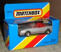 MATCHBOX - CADILLAC ALLANTE CAR - MB65 - MINT/BOXED/UNOPENED - c1980's - BARGAIN