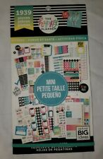 The Happy Planner Fitness Mini Sticker Book 1939 pieces