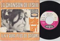 Leslie HART * 1967 PSYCH FOLK ROCK * Sung In French 45 * Listen!