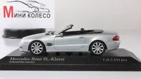 Scale Car 1:43, Mercedes-Benz SL-Class AMG 2006 Silver