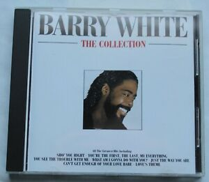 Barry White, the collection - best of, CD label 2