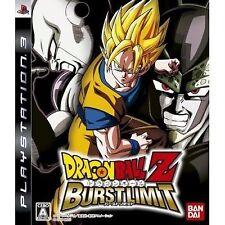 Dragon Ball Z: Burst Limit (Sony PlayStation 3, 2008) - Japanese Version
