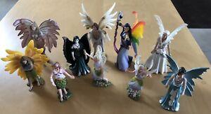 Schleich Figur Elfe Fee Bayala Fantasy 10 Stück Figuren