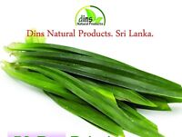 Organic Home Garden Pure Air Dried Pandan Leaf  fresh  long leaf free shipping