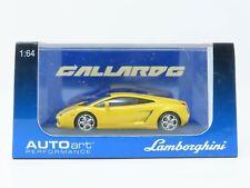 1/64 Scale Auto Art 20291 Lamborghini Gallardo Metallic Yellow Vehicle