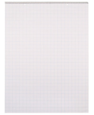 School Smart Chart Table Pad, 24 x 32 Inches, 1 Inch Grids, 25 Sheets