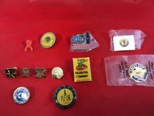 Lot Of 12 Pins Coca Cola Pins Cup Super Bowl Final Four United Way Chevy Cup UPS
