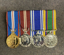 MINIATURE Golden Jubilee Diamond Jubilee Police LSGC Cadet Forces MOUNTED MEDALS