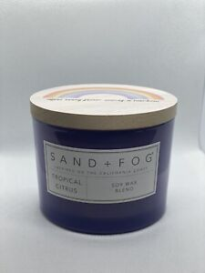 Sand And Fog Candle 12oz Tropical Citrus