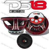 "DS18 PRO NEO6R 600W Mid Bass Neodymium Midrange 4 Ohm Car Audio Speaker 6.5"""