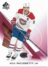 Max Pacioretty #46 - 2017-18 SP Authentic - Base Limited Red