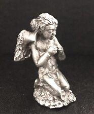 Cute Pewter Fairy Fairies Wings Mystical Magical Girl Silver Metal Figurine M