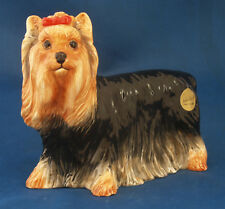 John Beswick PAMPERED Pooches Yorkshire Terrier jbpp 4 NUOVO CON SCATOLA