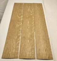 "White Oak Wood Veneer. Heavy Flake: 3 Sheets. 1/16"" Thick (41.5"" x 6.5"")5.5 SqFt"
