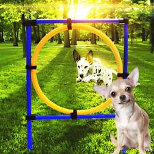 Dog Agility Training Hoop Jump Indoor Outdoor Pet Show Equipment. Luxury 2017