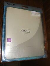 Belkin iPad Grip Vue Gripable Protector Translucent Case (New)